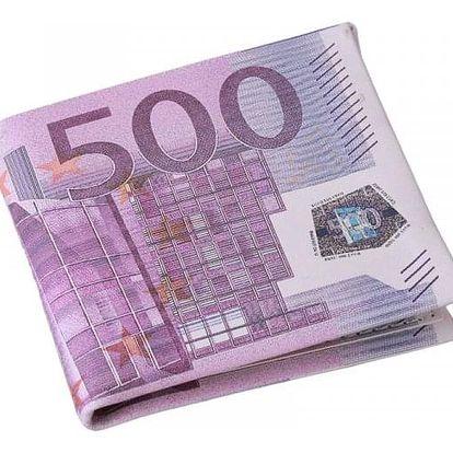 Pánská peněženka v motivu bankovek - 2 varianty