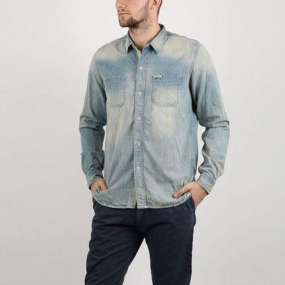 Košile Replay CHECKED FLANNEL TWILL M Barevná