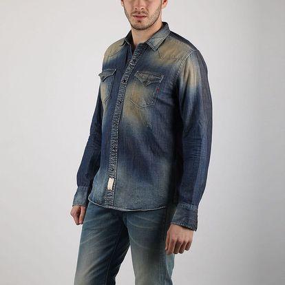 Košile Replay M4860 XL Modrá