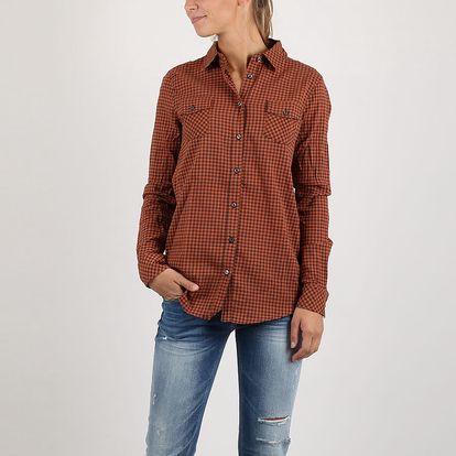 Košile Replay Y/D CHECK COTTON M Černá