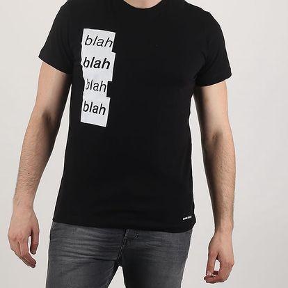 Tričko Diesel ADV-T-BLAH MAGLIETTA M Černá