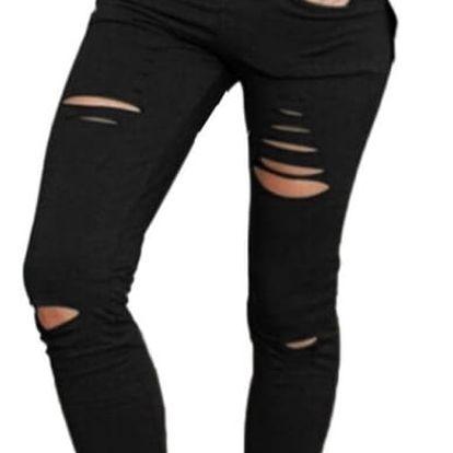 Krátké potrhané kalhoty pro dámy