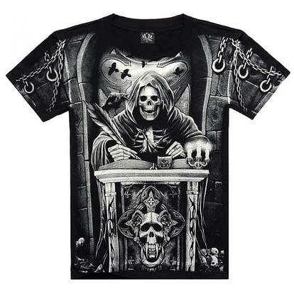 Rockové tričko s originálními vzory