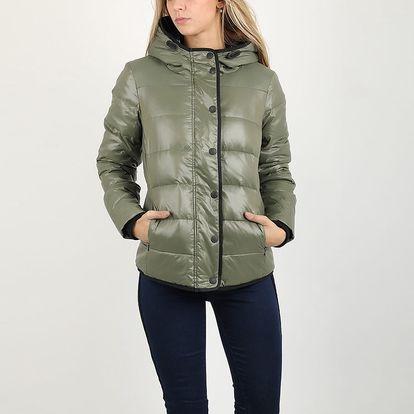 Bunda Replay W7995 Quilted jackets L Zelená