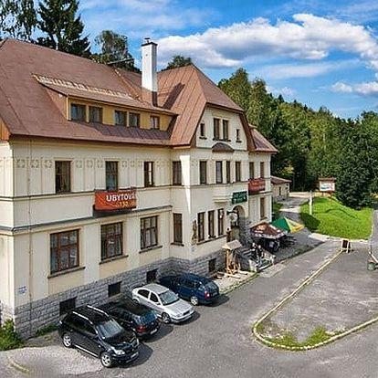 3–6denní pobyt pro 2 osoby s polopenzí v chatě Labská ve Špindlerově Mlýně