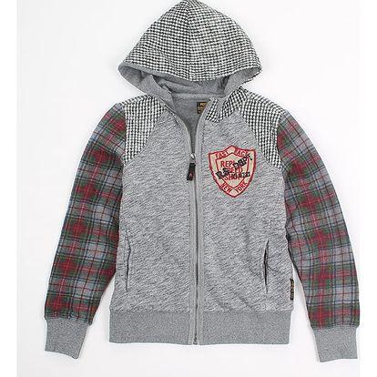Mikina Replay SB2379 Sweatshirts 12A Šedá