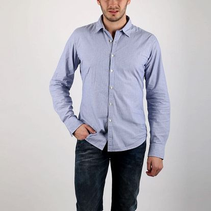 Košile Replay M4870 L Modrá