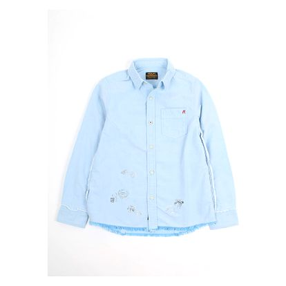 Košile Replay SB1042 Shirts 12A Modrá