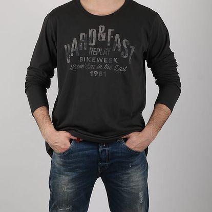 Tričko Replay M6467 M Černá