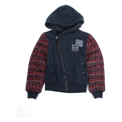 Mikina Replay SB2380 Sweatshirts 10A Modrá
