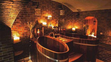 60 minut relaxace v dřevěné kádi plné piva v pražských lázních Exclusive pro 2