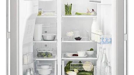 Kombinace chladničky s mrazničkou Electrolux EAL6140WOU šedá + Doprava zdarma