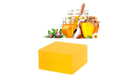 Peelingové medové mýdlo 100 g