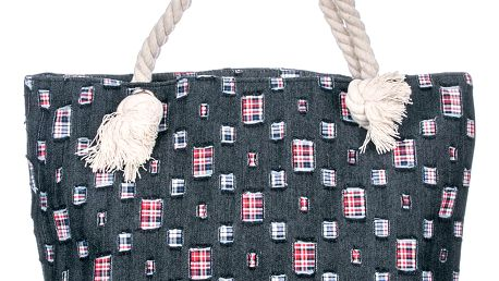 Fashion Icon taška Jeans lněná