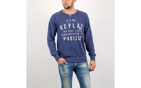 Mikina Replay POLY-COTTON FLEECE XL Barevná