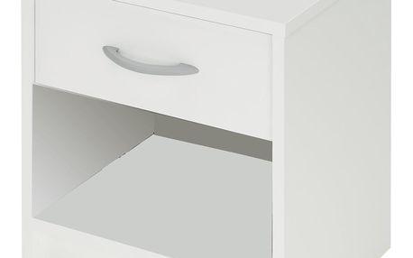 Noční stolek 305895 bílý Idea