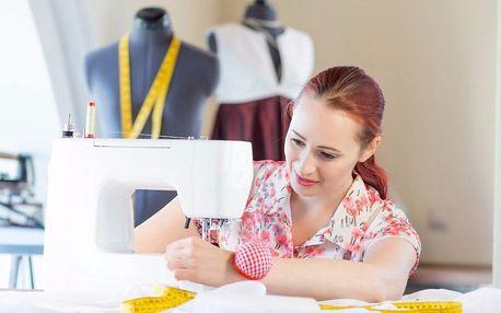 Kreativní kurz šití: 8 hodin šitých na míru