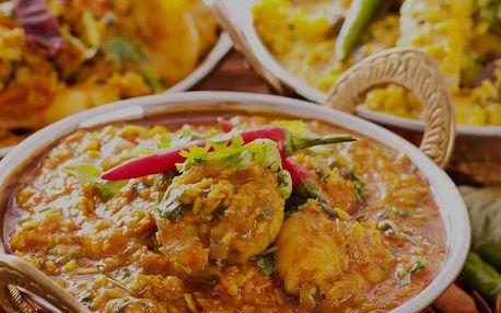 50% sleva na veškerá jídla v indické restauraci Indian Happy Tandoor