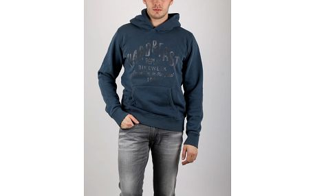 Mikina Replay ENZIME WASHED BRUSHED FLEECE S Barevná