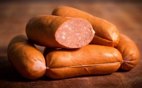 Ručně vyráběné mistrovské špekáčky s 92 % masa