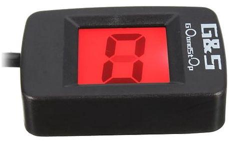 Senzor zařazené rychlosti s LCD displejem