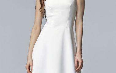 Bílé šaty S62