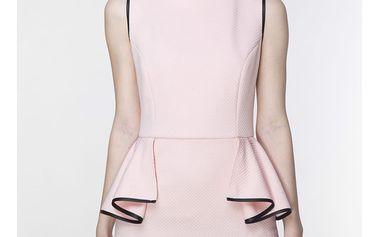 Světle růžové šaty ASU0007