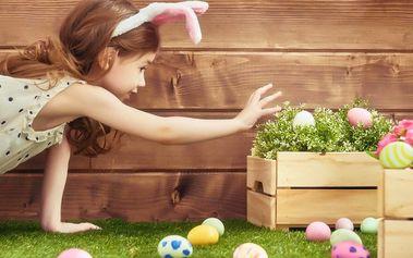 Hledání velikonočních vajíček na Petříně