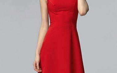 Červené šaty S62