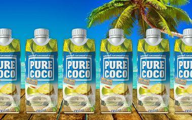 Pure Coco: 12x 330 ml kokosové vody s ananasem
