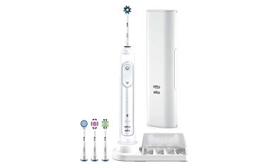 Zubní kartáček Oral-B Genius PRO 9000 white bílý + Doprava zdarma