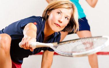 Hodina squashe za perfektní cenu v Plzni. Vyplavení adrenalinu, udržení kondice a relaxace.