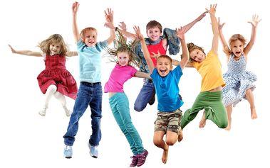 Praha: 5denní příměstský taneční tábor: obědy, výuka AJ, výtvarná dílna pro děti 7-10 let