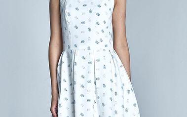 Smetanovo-béžové šaty S73