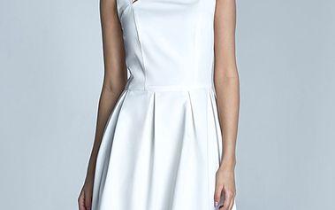 Smetanové šaty S73