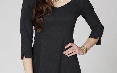 Černé šaty ASU0026