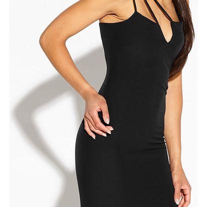 Černé šaty Royale