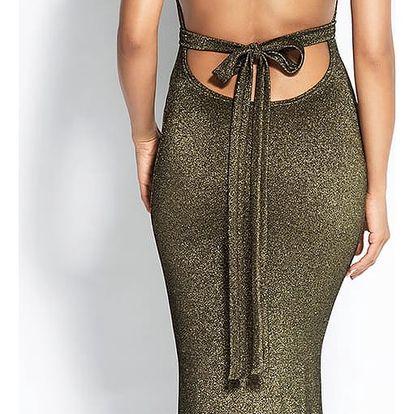 Bronzové šaty Cindy