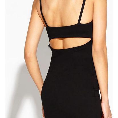 Černé šaty Roxet