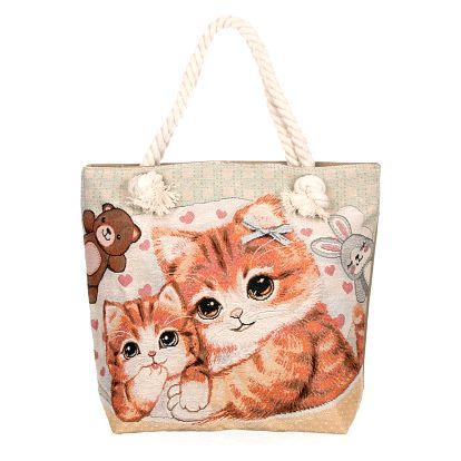 Fashion Icon Dámská taška Family kočky roztomilé