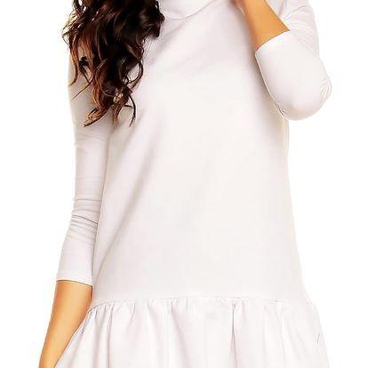Bílé šaty NA31