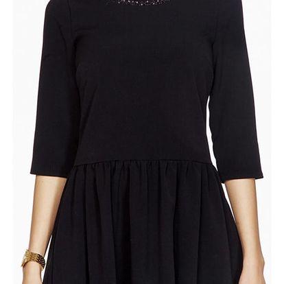Černé šaty ASU0016