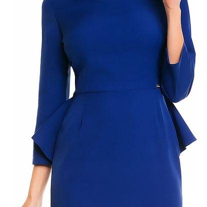 Modré šaty A132