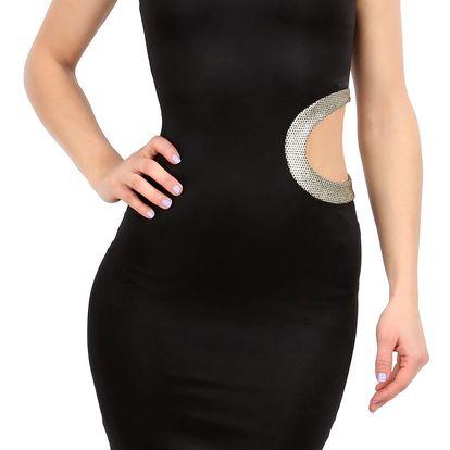 Dámské malé černé šaty Zack vel. EUR 38, UK 10