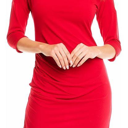 Červené šaty A131
