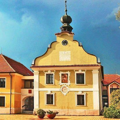 Pobyt v jižních Čechách s chutnou polopenzí