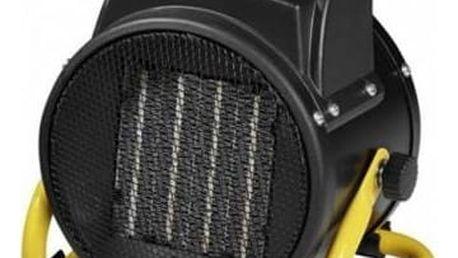 Teplovzdušný ventilátor Clatronic HL 3651 černý/žlutý + Doprava zdarma