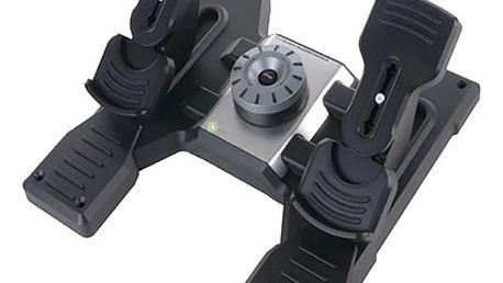 Logitech G Saitek Pro Flight Rudder Pedals - letecké pedály - 945-000005