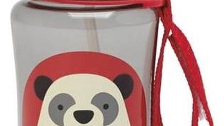Dětská láhev SKIPHOP s brčkem - Panda