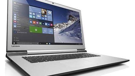 Notebook Lenovo IdeaPad 700-17ISK (80RV0050CK) černý Chladící podložka pro notebooky Lenovo (zdarma)Software F-Secure SAFE 6 měsíců pro 3 zařízení (zdarma)Software Microsoft Office 365 pro jednotlivce CZ (zdarma)Monitorovací software Pinya Guard - licence